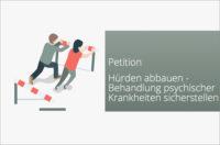 Psychotherapie Grundversicherung Petition Huerden abbauen